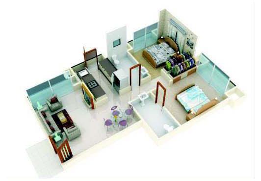 Tejas Heights Floor Plan