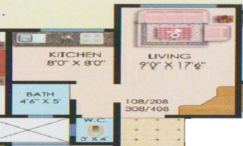 Vedant Jai Ganesh Floor Plan