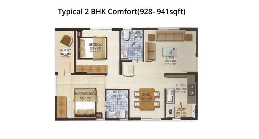 Provident Housing Kenworth Floor Plan