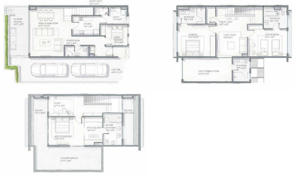 Goyal Alanoville Floor Plan