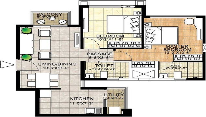 Adani The Meadows Floor Plan