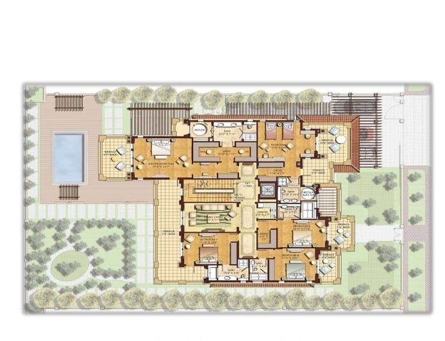 Adani The North Park Floor Plan