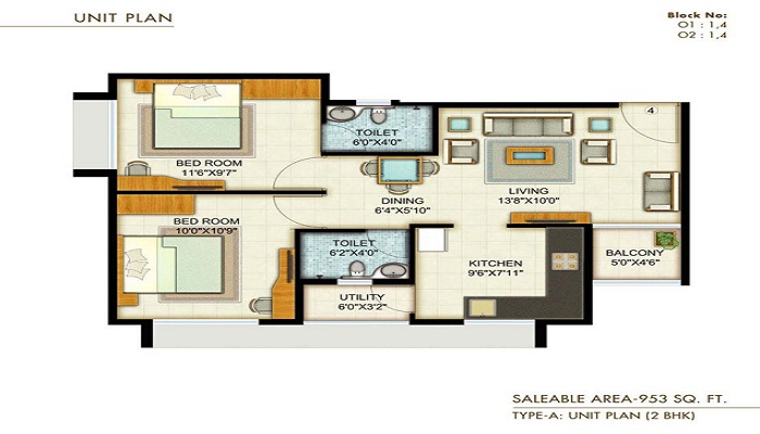Adani Pratham Floor Plan