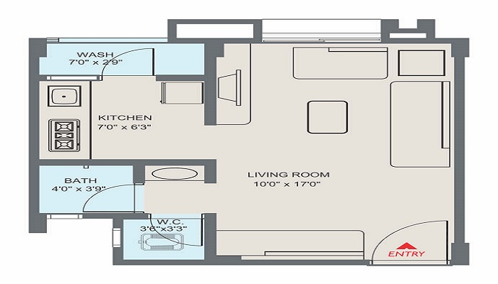 Applewoods Satyesh Residency Floor Plan