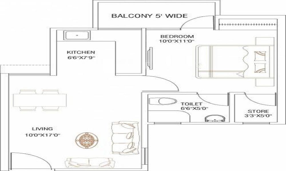 Shubhkamna Sublime Floor Plan