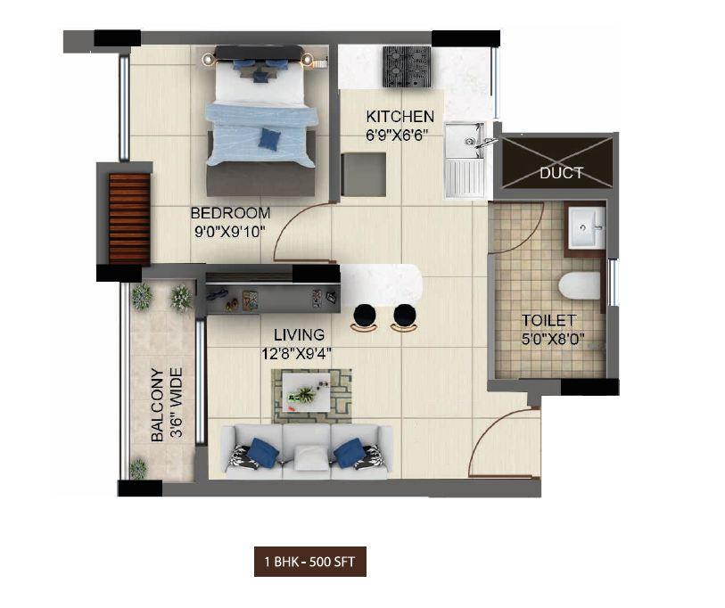 Salarpuria Sattva Altana Floor Plan