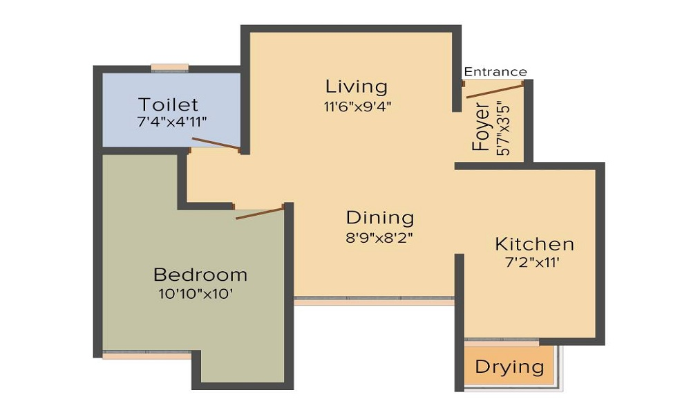 Assetz 63 Degree East Floor Plan