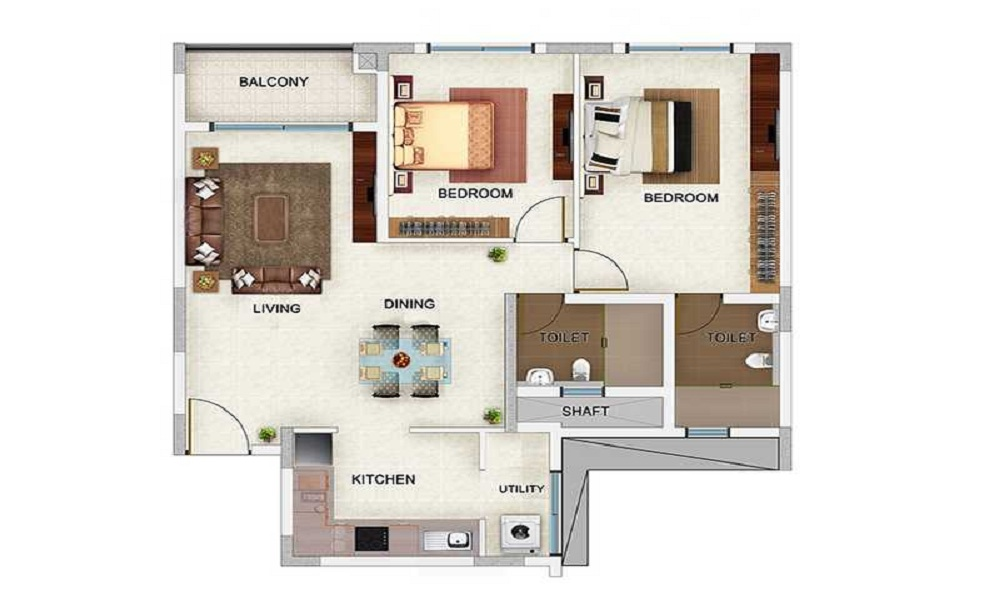Bren Champions Square Floor Plan