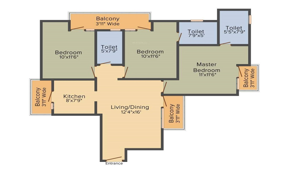 Imperia Mirage Floor Plan