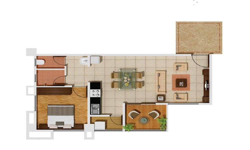 Gera Park View I Floor Plan