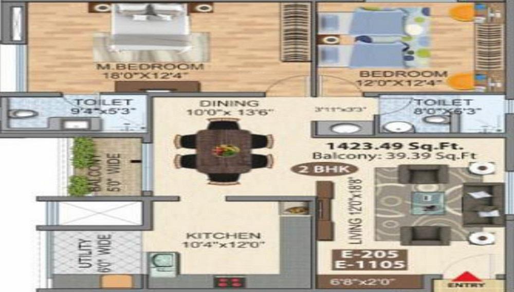 Gera Emerald City Floor Plan