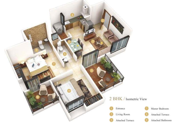 Majestique Venice Floor Plan