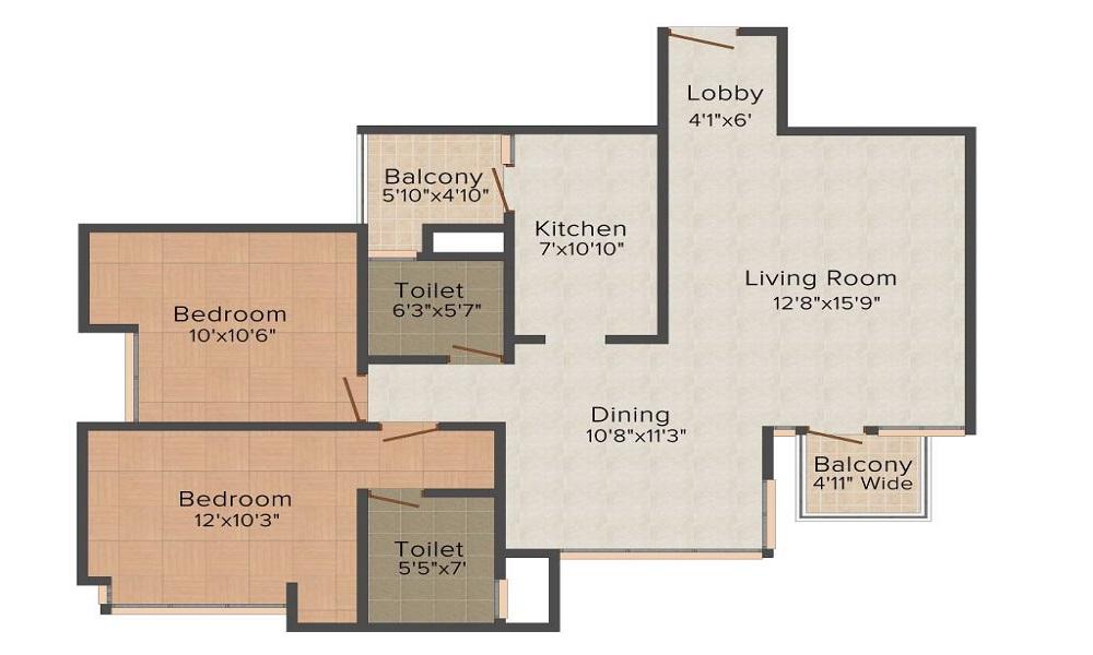 Pioneer Park Floor Plan