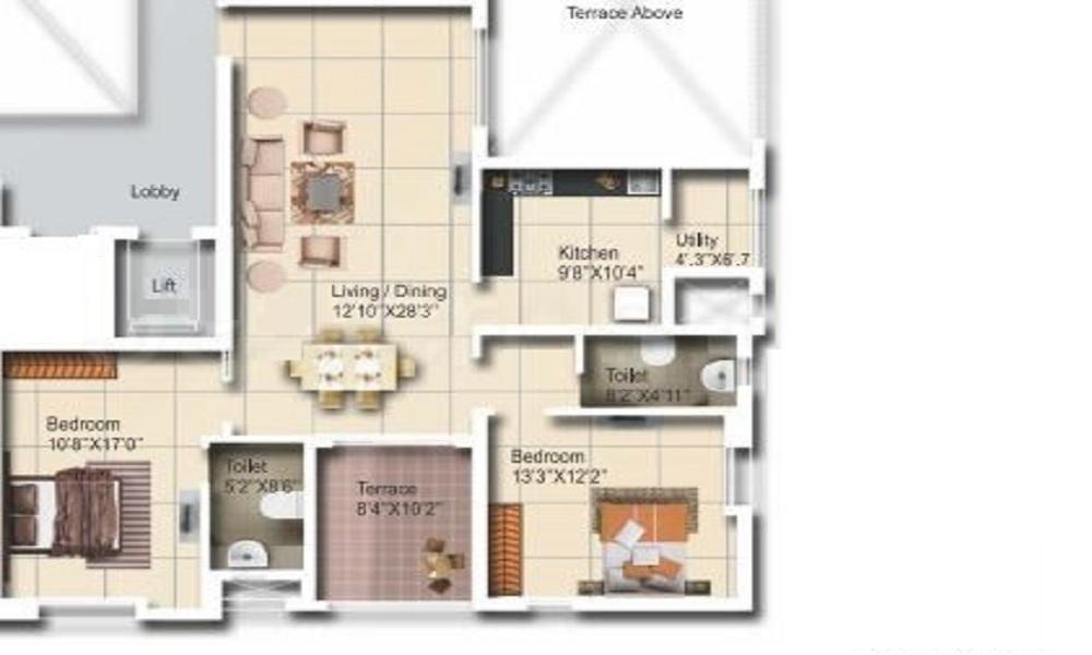 Vascon Zircon Floor Plan