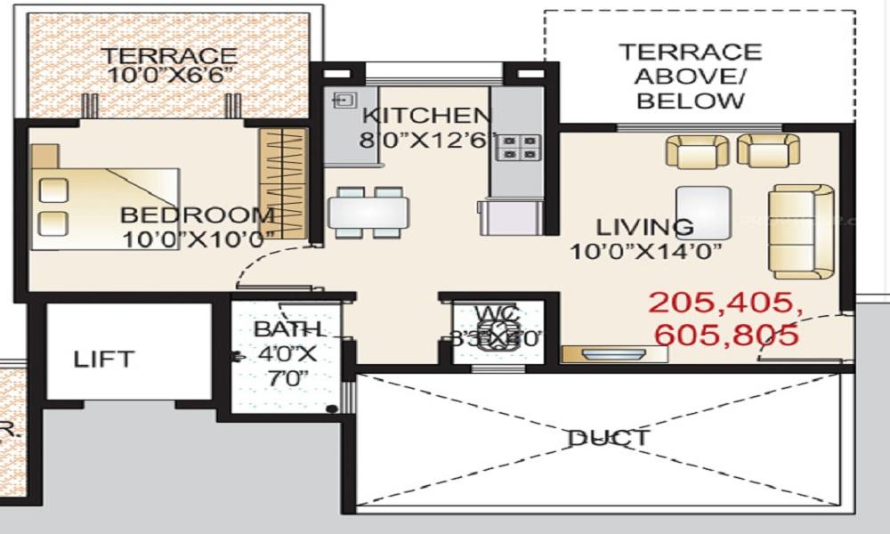 GK Palacio Floor Plan