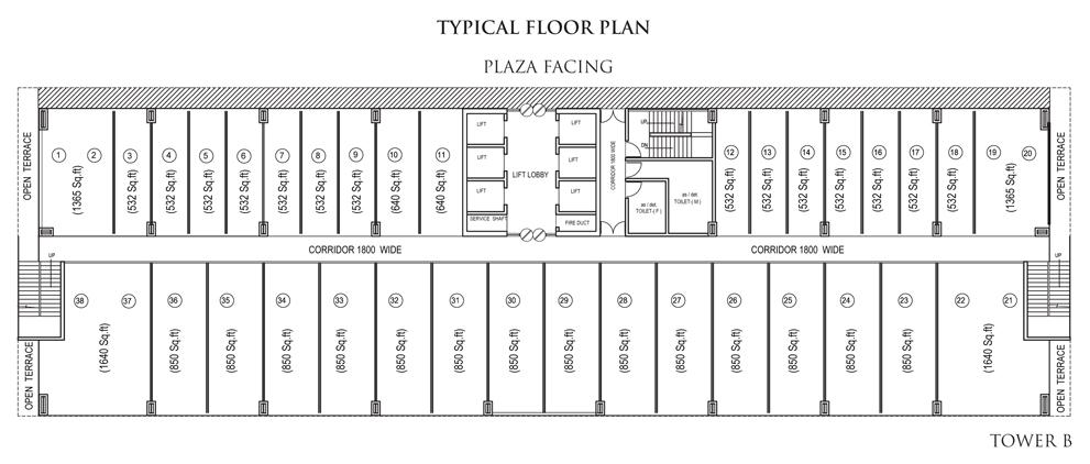 Bhutani Alphathum Floor Plan