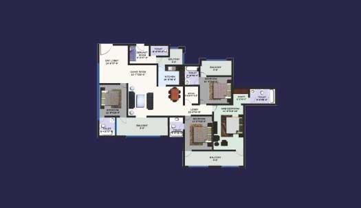 Revanta Heights Floor Plan