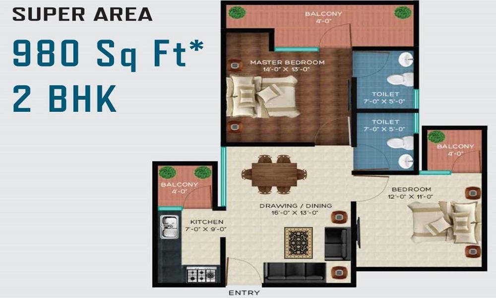 Revanta Smart Homes Floor Plan