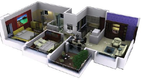 Revanta Royal Residency Floor Plan