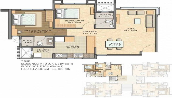 Savvy Swaraaj Sports Living Floor Plan
