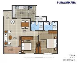 Purva High Waves Floor Plan