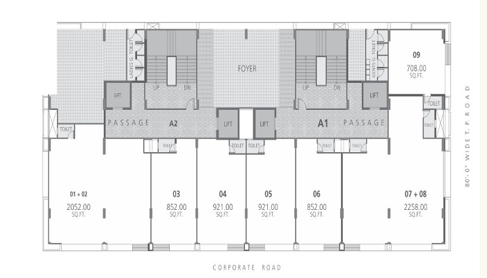 Goyal Palladium Floor Plan
