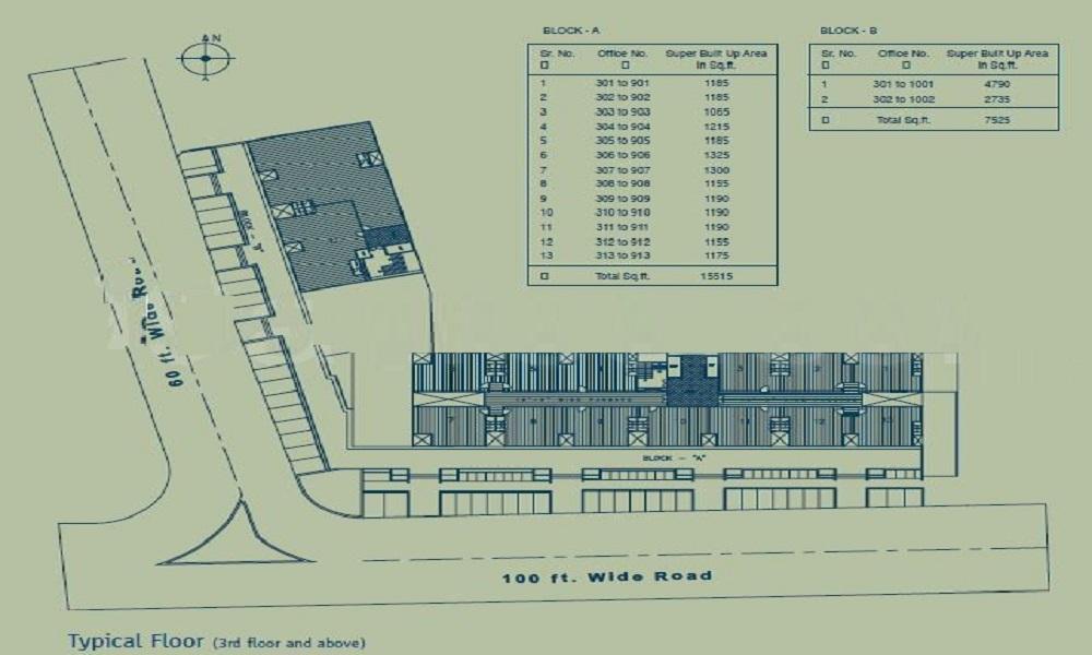Safal Pegasus Floor Plan