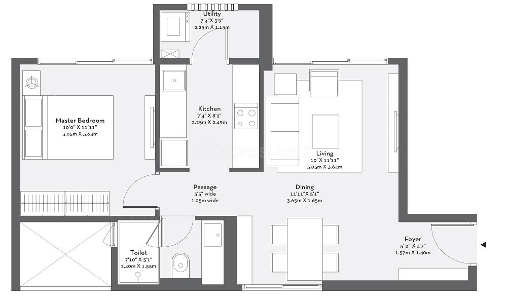 Godrej Origins Floor Plan