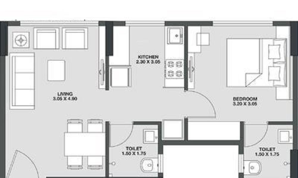 Godrej Kandivali Floor Plan