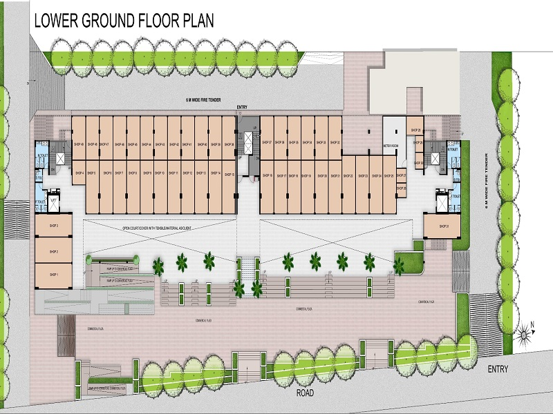 Panchsheel Greens Mart Floor Plan