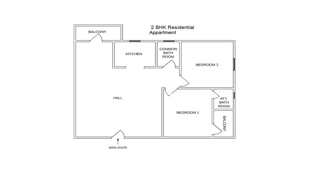 Bhagirathi Apartment Floor Plan