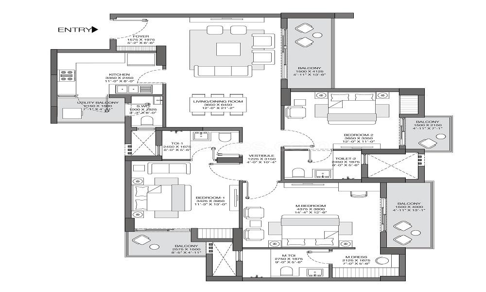 Godrej Nest Floor Plan