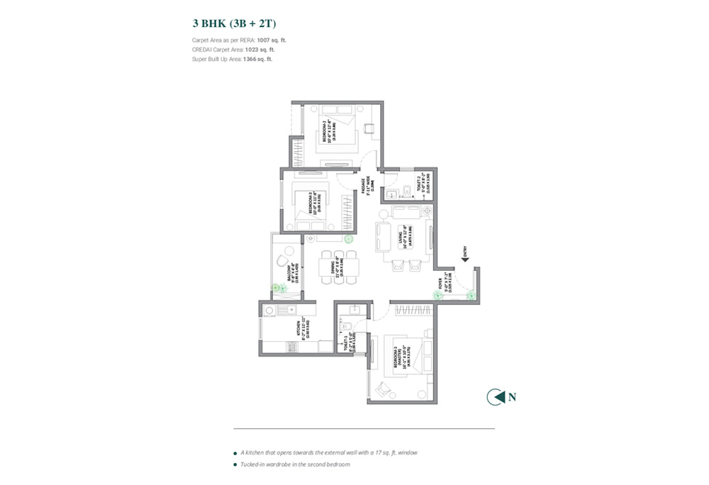 Assetz Marq 2.0 Floor Plan
