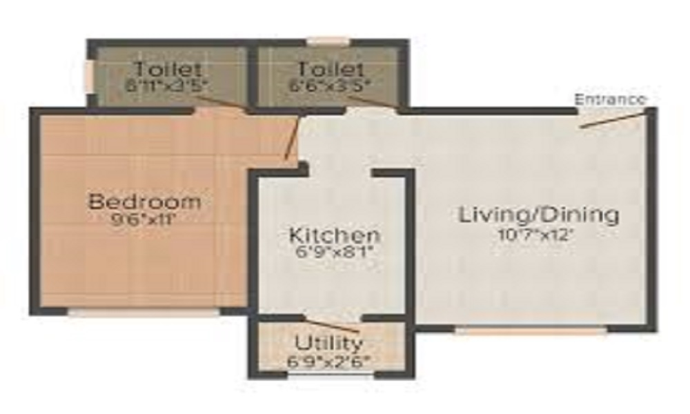 Kolte Patil IVY Nia Floor Plan
