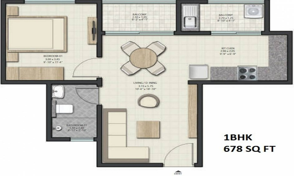 Sobha Dream Gardens Floor Plan