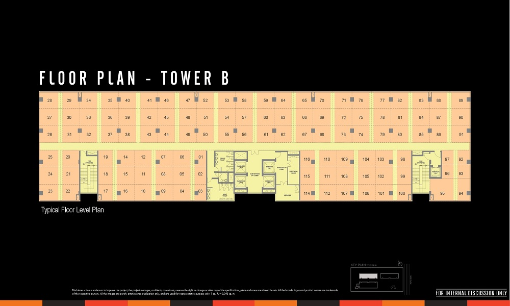 WTC CBD Floor Plan