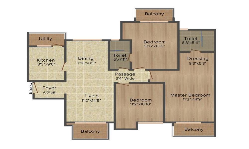 ATS Le Grandiose Floor Plan