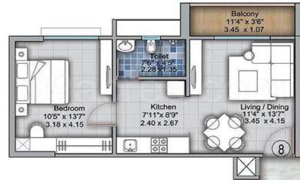 VTP One Floor Plan