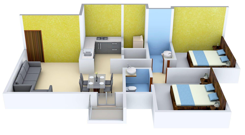 Ajmera Casa Vyoma Floor Plan