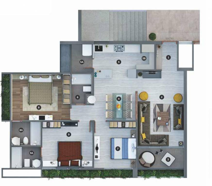 Sheetal Westpark Floor Plan