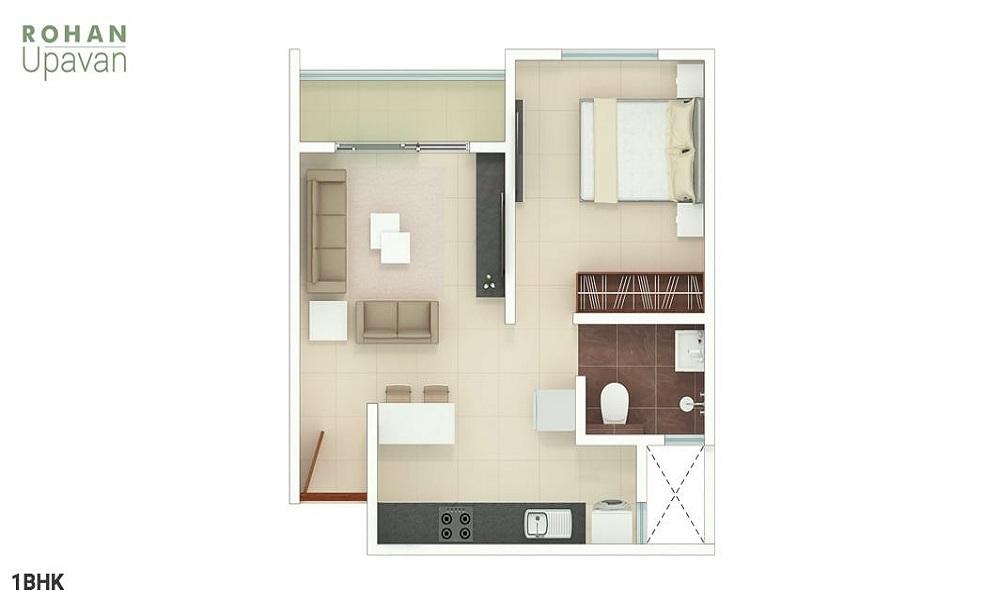 Rohan Upavan Phase 1 Floor Plan