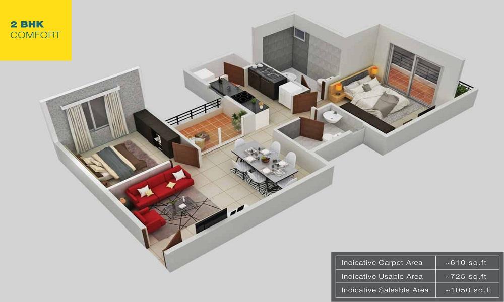 Provident Northern Destiny Floor Plan