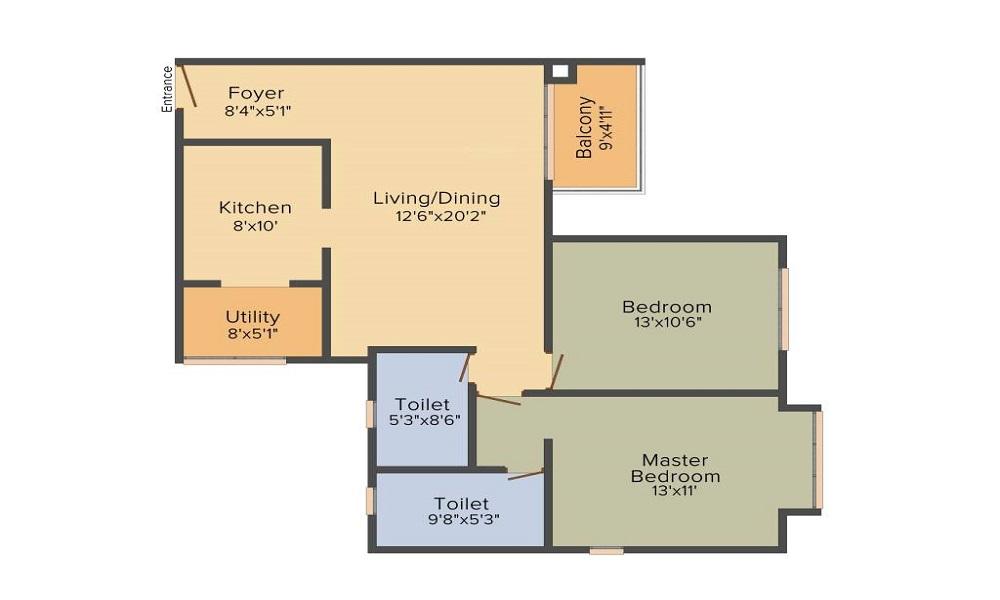 DNR Casablanca Floor Plan