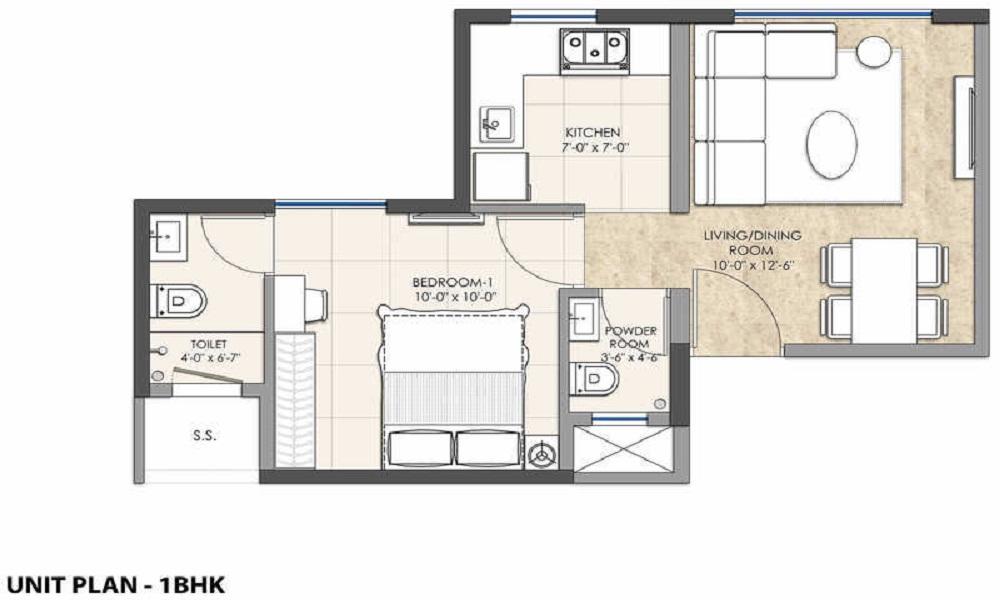 Omkar Lawns And Beyond Floor Plan