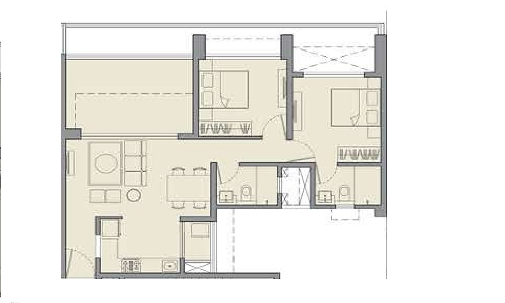 Godrej Rejuve Floor Plan