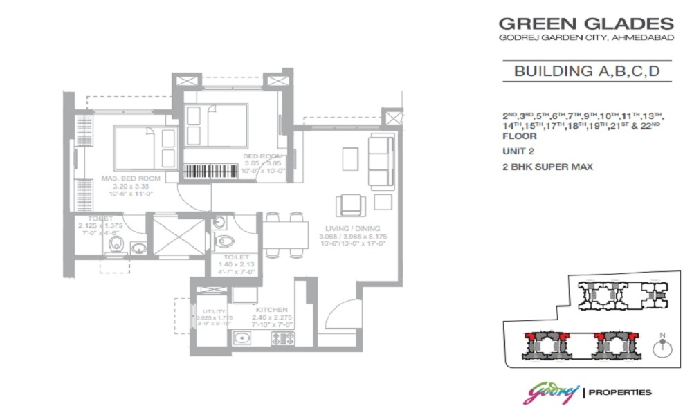 Godrej Green Glades Floor Plan