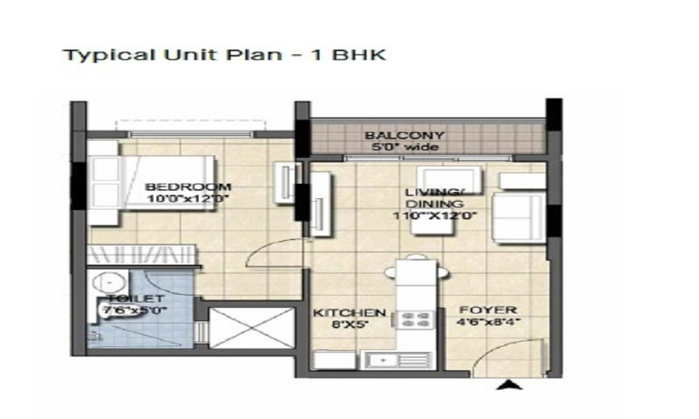 Ajmera Nucleus Floor Plan