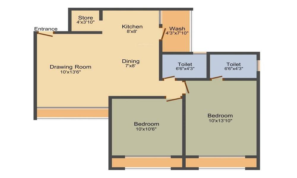 Narayan Krupal Bachpan Floor Plan