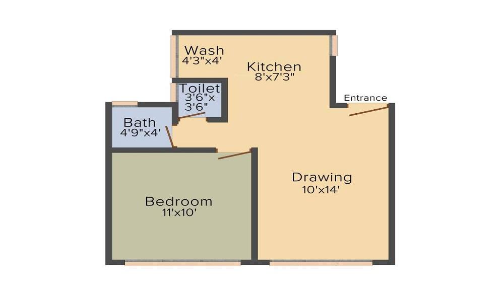 Savvy Studioz Floor Plan