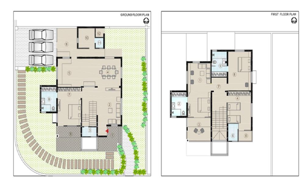 Bakeri Serendeep Mansions Floor Plan